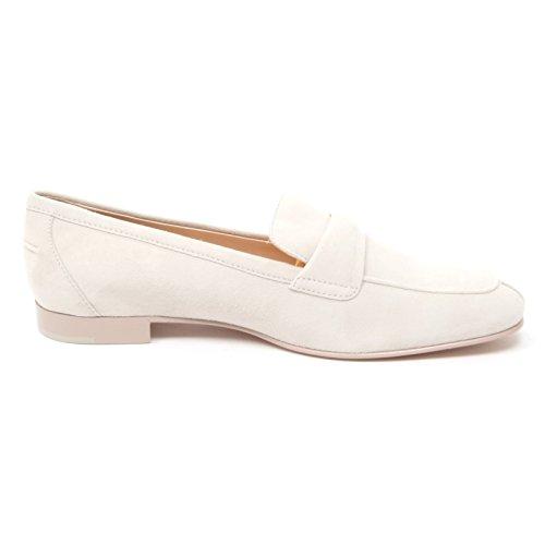 B4371 mocassino donna TOD'S scarpa panna shoe loafer woman Panna