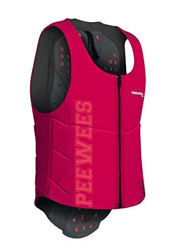Komperdell Ballistic Vest Junior Pinker Schutz, Unisex Erwachsene, Unisex-Erwachsene, 6288-209.F18, schwarz/pink, 140