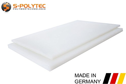 8,0 mm stark 250 x 600 mm Wunschma/ß Zuschnitt bis Gr/ö/ße 25 x 60 cm beidseitig foliert B/&T Metall Acrylglas PMMA XT Platte transparent UV-best/ändig
