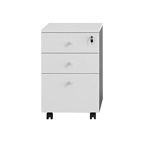 Completamente montato 3 cassetti mobile Casellario for A4 Files, con serratura Armadietti commerciale, con attaccatura del supporto di file e anti-tilt Design, file di Office scorrimento verticale Cab