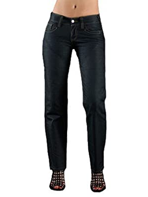 Hornee Storm Blue Dupont Military Grade SA-W7 Storm Womens Kevlar Jeans