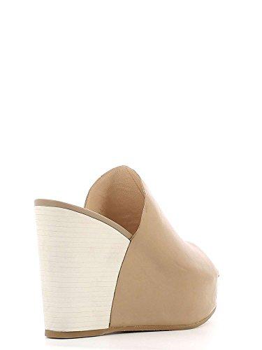 Cafenoir HF135 Sandalo zeppa Donna Taupe