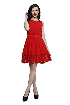 Lee//Marc Women's Dress (10003_Red_40)
