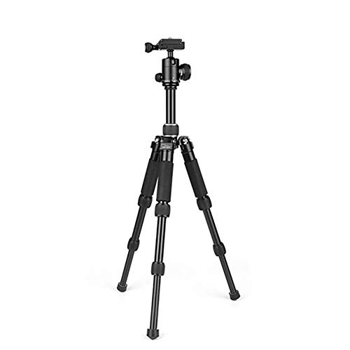 Kompaktes Leichtes Reise-Bewegliches Faltendes Spiegelreflexkamera-Stativ DSLR Kamera-Video Mit Tragen Fall,Black