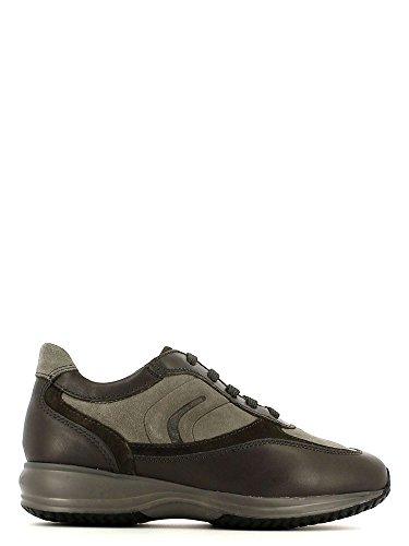 Geox U4462A Sneakers Homme Croûte De Cuir