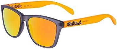 Northweek Regular Smoky Grey / Bright Orange - Orange Polarized - Gafas de sol unisex, multicolor