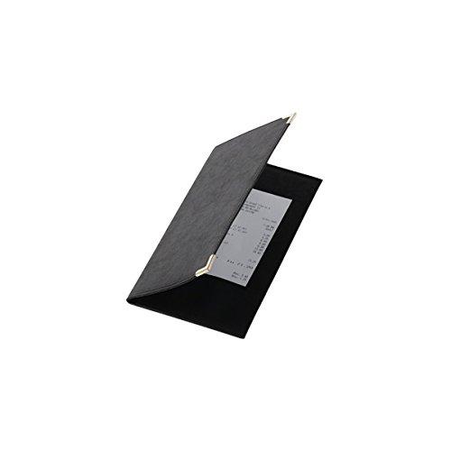 Genware nev-mc-crbp-bl Classic Bill Presenter, 23cm x 13cm, schwarz