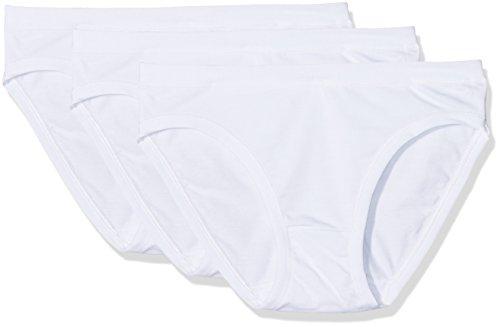 Cotonella, Slip Donna (Pacco da 3) Bianco