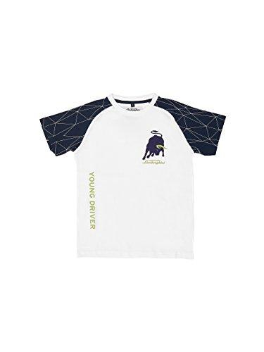 Automobili Lamborghini Jungen T-Shirt Pattern Lamborghini für Kinder White 4 Years - Lamborghini-shirt