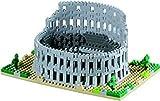 BRIXIES 410132-Colosseo Roma, Puzzle 3D, Italy Edition, 896Pezzi, Livello di difficoltà: 5per esperti, Multicolore