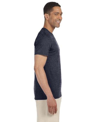Gildan Softstyle, adult ringspun t-shirt Heather Navy