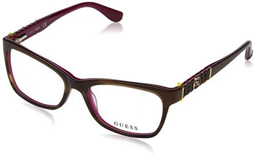 Guess Unisex-Erwachsene Brillengestelle GU2606 050 52, Braun (Marrone Scuro)