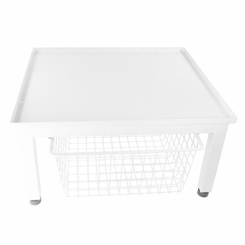 first4spares-universal-washing-machine-anti-vibration-table-stand-base-and-basket