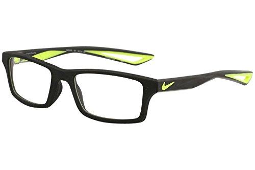 Nike Unisex-Kinder Brillengestelle 4678 001 49, Black/Volt