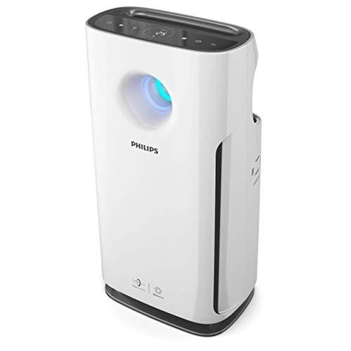 Philips AC3256/10 Luftreiniger (für Allergiker, bis zu 95m², CADR 393m³/h, AeraSense Sensor) weiß (Zertifiziert und Generalüberholt)