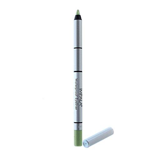 Impala - Lápiz ojos waterproof cremoso Color Verde