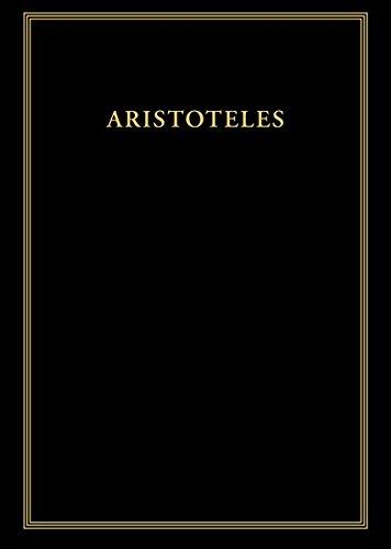 Aristoteles: Werke / Nikomachische Ethik