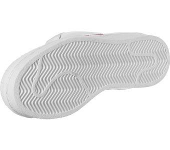 adidas Pro Modem, Basket femme Blanc/rouge
