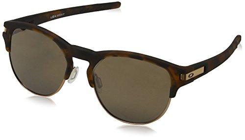 Oakley Herren Latch Key 939403 Sonnenbrille, Mehrfarbig (Matte Brown Tortoise), 55