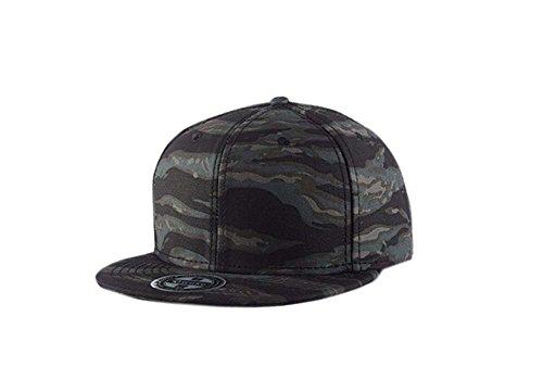Individualität Mode-Baseballmütze Hip-Hop Hut (verstellbar, Tarnfarbe)