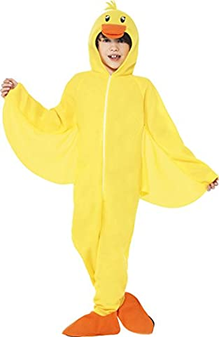 Smiffy's Children's Unisex All in One Duck Costume, Jumpsuit with