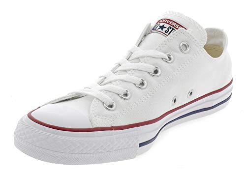 Converse Chuck Taylor All Star, Sneakers Unisex - Adulto, Bianco (Optical White), 37.5 EU