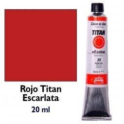 ÓLEO ROJO ESCARLATA TITAN Extrafino 6 - 20ml. Nº 32