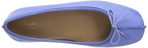 Clarks - Freckle Ice, Mocassino da donna Blu (Blue Leather)