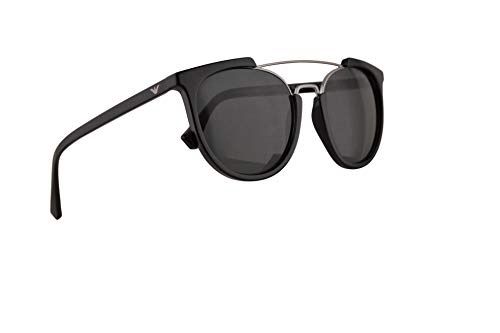 Emporio Armani EA4122 Sunglasses Black w/Grey Lens 53mm 501787 EA 4122