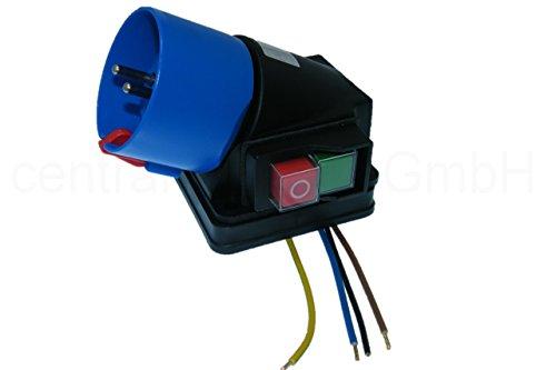 Aufbauschalter + Stecker Unterspannungsauslöser Maschinen Sicherheitsschalter