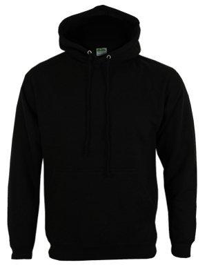 Gildan Hooded Sweatshirt Heavy Blend Plain Hoodie Pullover Hoody Black