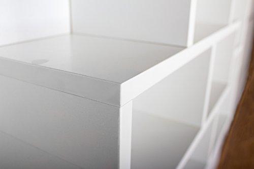 Mensole Per Ufficio : Ricoo mensola da muro o da basso per casa wm050 w libreria mensole
