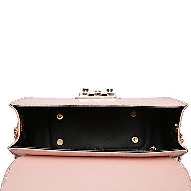WZW Donna Borsa a tracolla PU (Poliuretano) Per tutte le stagioni Baguette A Blu Nero Rosa . blushing pink blushing pink