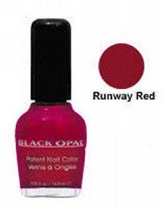 Black Opal Nail Polish Patent Nail Lacquer 14.8Ml Runaway Red Red by Black Opal
