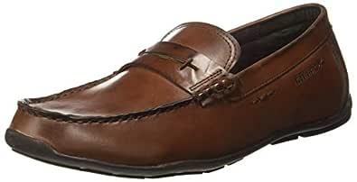 KILLER Men's Tan Loafers-6 UK/India (40 EU) (KLMF-1124)