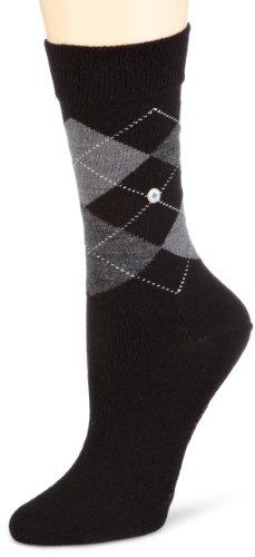 Burlington Damen Socken Marylebone, Gr. 36/41,schwarz (black 3000)