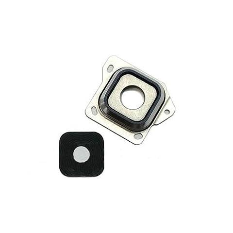 Samsung Galaxy A3 (2015) Kamera Linse Ring Cover Lens Abdeckung Scheibe Schwarz (Scheibe Gürtel)