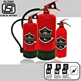 abc type fire extinguisher stored pressure is: 15683 , isi mark capacity 6 kg