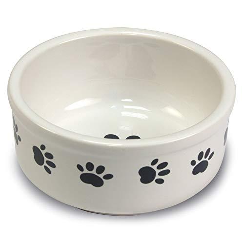 Arquivet 8435117825109-Mangiatoia Ceramica Impronte 15cm