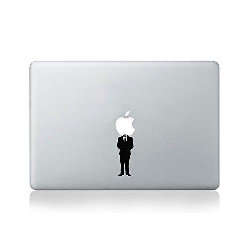 Anonymous Apple Vinyl-Aufkleber für MacBook (13/15 / 15) oder Laptop