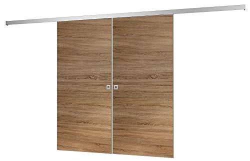 Zimmertür Einhängefertig mit Schloss und Bändern ausgestattet