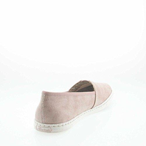 Rieker Damen M2760 Slipper Rosa