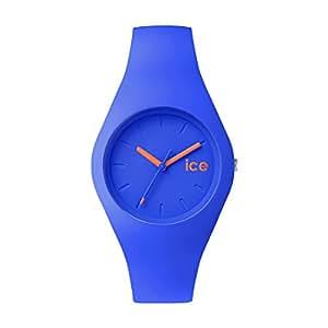 ICE-Watch - ICE.DAZ.S.S.14 - Ola - Montre Mixte - Quartz Analogique - Cadran Bleu - Bracelet Silicone Bleu
