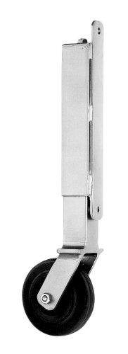 Gah-Alberts 416850 Roue de soutien pour portails lourds et larges, supporte un poids de portail de 70 kg, ø 100 mm