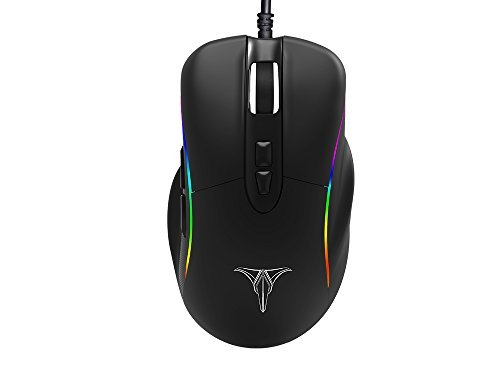 Talentech Ember Plus High Precision Optical Wired Gaming Mouse Mice for PC / Mac for Pro Gamer 31tbnsSx6WL