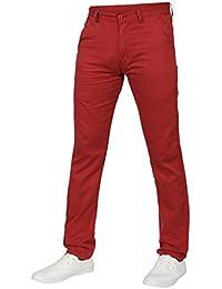 Amazon.co.uk: Red - Jeans / Men: Clothing
