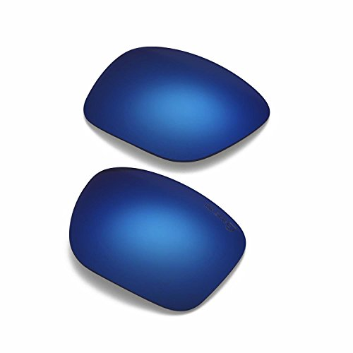 Walleva Sonnenbrille-Herren, uni, Ice Blue Coated - Mr. Shield Polarized