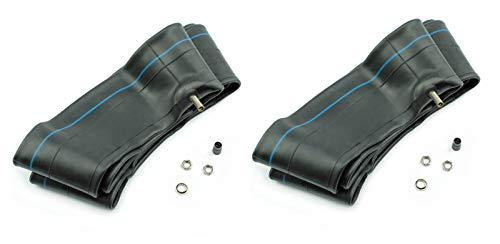 BISOMO 2 x Schlauch 2 1/4 x 16-2,25 x 16 Vee Rubber Gerades Ventil TR4 für Mofa und Anhänger