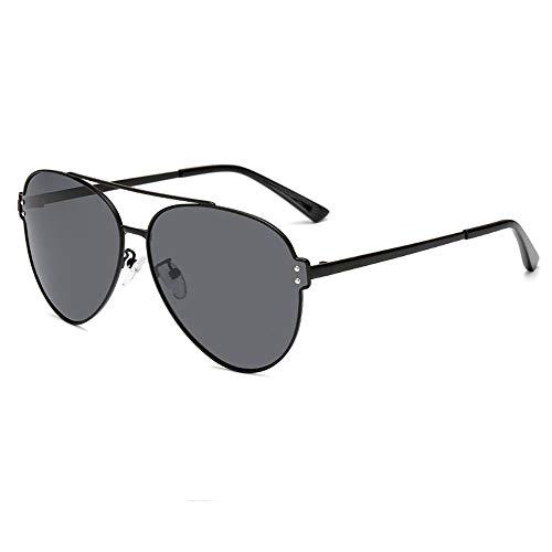 shixiaodan Herren Sonnenbrille Polarisierte, Einfache Sonnenbrille Herren polarisierte Metallrahmen Mode Brille