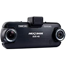 Nextbase DUO HD – 1080p Front & Back Rear Cam Dual Lens DVR In-Car Dash Cam - 140 degrees - WiFi, GPS - Black (Renewed)
